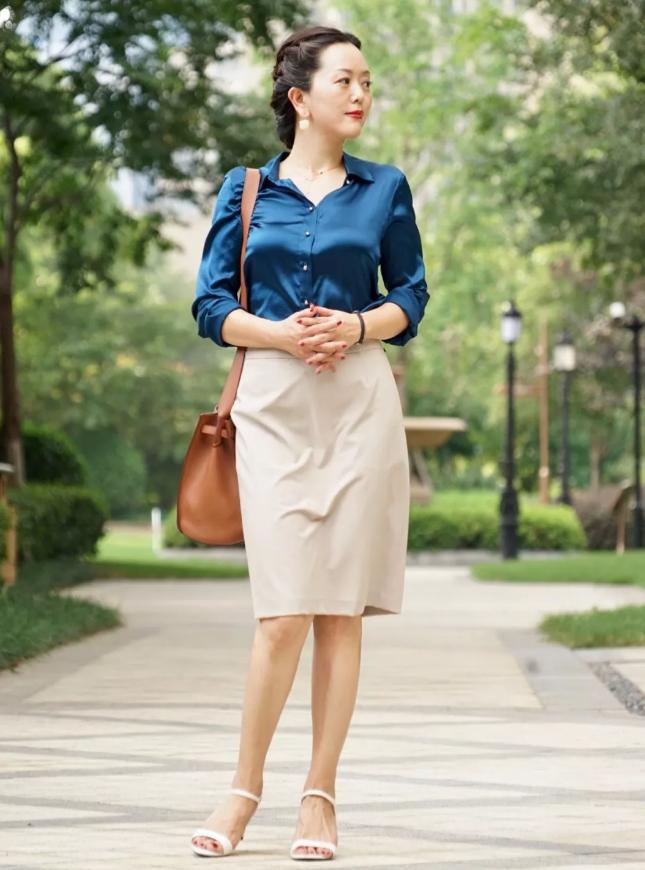白领职场女性掌握这些穿搭技巧才好看!