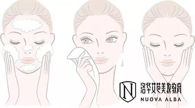 日常生活护肤步骤
