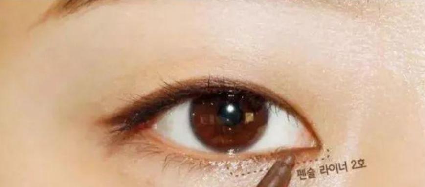 新手如何画眼线