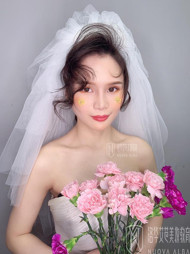 长沙学化妆新娘妆哪里好