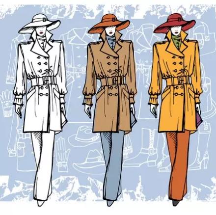服装搭配:秋季风衣高级穿搭技巧