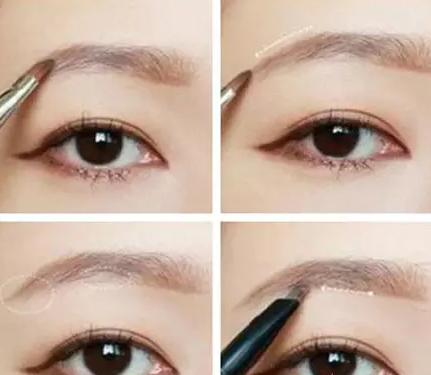 长沙化妆培训班哪里有?大眼睛适合什么样的眉毛?