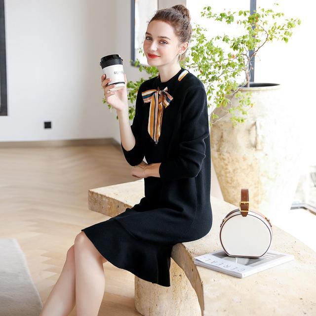 长沙化妆学校教您针织裙怎么穿时髦显高级